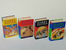 "4x Harry Potter ""First Editions"" Hardcover 1st Order of Phoenix Goblet of Fire +"