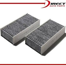 CARBONIZED CABIN AIR FILTER FOR JEEP WRANGLER 2 PC SET 2011-2017 OE# 55111302AA