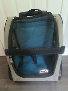 SNOOZER Roll Around Travel Dog Carrier Backpack 4-in-1~MEDIUM SIZE-PRE-OWNED