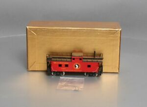 Custom Painted Oriental Limited HO Brass Great Northern Caboose X237 EX/Box