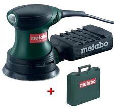 Metabo 240W 125mm ELECTRIC dettaglio Palm LEVIGATRICE ORBITALE fogli levigatura strumento fsx200