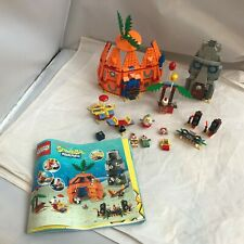 LEGO 3834 SpongeBob Good Neighbors Pineapple with Instructions almost complete