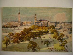 ADELAIDE, VICTORIA SQUARE, c1920, ORIENT LINE, ORIGINAL VINTAGE POSTCARD