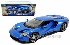 NEW MAISTO 1:18 SPECIAL EDITION 2017 FORD GT DIECAST CAR BLUE 31384BL