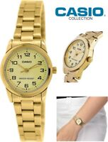 Reloj Analogico CASIO LTP-V001G-9B - Correa De Acero - Reloj Cuarzo Para Mujer