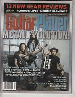Guitar Player  Metal Evolution!  January 2018 Magazine - Steve Morse ++ /l6