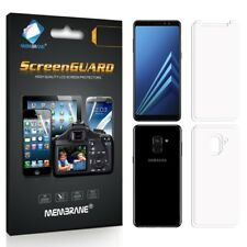 4 Screen Protectors For Samsung Galaxy A8 2018 - Glossy Cover [2 Front + 2 Back]