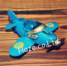 Mini Retro Fighter Airplane Aircraft Model Home Decoration Toy Birthday Present