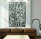 Retna Canvas Print, Black/White, 28x42, New