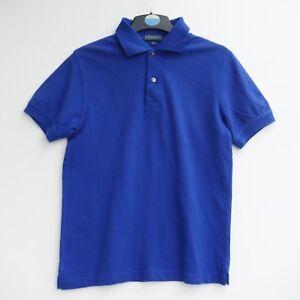 """Fantastic LYLE & SCOTT Men's Royal Blue Polo Shirt Top Size Small Fit 36"""" chest"""