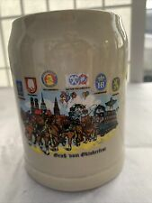 New listing Vintage Gray Stoneware Beer Mug, .25L 4.25� tall, Wieninger, Munich