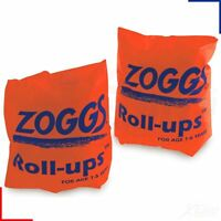 BNIB Zoggs 1-6 Years Swimming Pool Roll Up Arm Bands