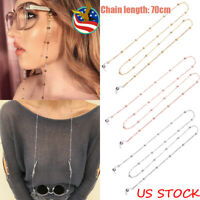 Beads Glasses Sunglasses Spectacles Eyewear Chain Holder Cord Lanyard Necklace
