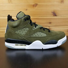 3f73f59f78ae6a Nike Air Jordan Son Of Mars Low Shoes Men s Olive Canvas White-Black 580603