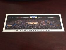 2010 Final Four Panoramic Picture Bookmark Card Indianapolis Duke Butler MSU WVU