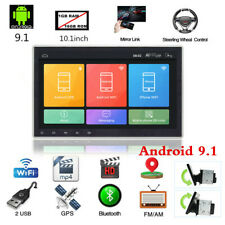 "10.1"" Double 2Din HD Car Stereo Radio MP5 Player GPS Navi WiFi 3G/4G Android 9.1"