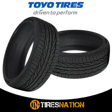 (2) New Toyo Extensa HP II 195/55/15 85V High Performance Handling Tire