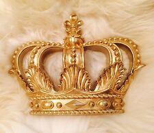 GOLD muro appendere VOILE BED Canopy Principessa SHABBY CHIC LETTINO Principe ereditario Vivaio