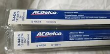 2 Pack of ACDelco 8-4424 All Season Wiper Blade
