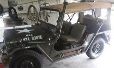 Ford Mutt, m151, a1, a2, capota en colores de arena con polarizada de plástico