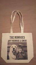 Autographed Collectible AMY MONROE Canvas Bag from THE MONROES TV SHOW