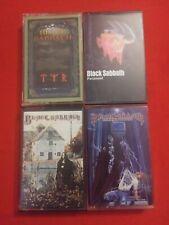 Black Sabbath cassette lot of 4 Paranoid, TYR, Dehumanizer, Black Sabbath