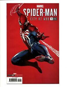 Spider-Man City at War #1 1:100 Granov Variant NM Playstation Gamerverse