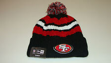 San Francisco 49ers New Era Beanie Toque Ladies Women Knit Hat Cap NFL Wintry