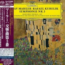 RAFAEL KUBELIK-MAHLER: SYMPHONY NO.3-JAPAN MINI LP SHM-SACD Ltd/Ed K25