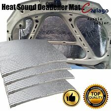 Sound Heat Deadening Deadener Noise Reducing White Foam Carpet 4 x Sheet 50*40cm