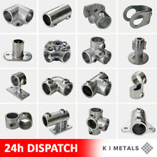 More details for galvanised key clamp handrail system connector pipe fittings railings steel tube