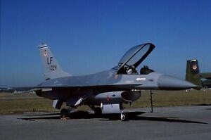 Original colour slide F-16A 90324/LF of 58 TFW USAF