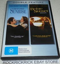 Double Feature Dvd Before Sunrise & Before Sunset R4 (Ethan Hawke, Julie Delpy)