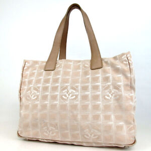 Authentic CHANEL 6793516 New travel line Tote Bag Nylon[Used]