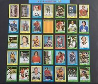 1973 Topps Set Break Hockey Cards #110-167 DAVE SCHULTZ Rookie | YVAN COURNOYER