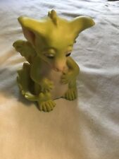 Pocket dragon 1992 I Ate The Whole Thing Hand made in U K Signed