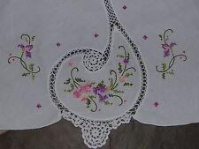 Tafeltuch Tischdecke  Handarbeit  rund 160cm # 60