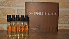 Hermes Terre D`Hermes Mens Cologne Sample Spray Vials Lot of 5