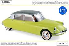 Citroën DS 19 1958 Jaune Jonquille & Gris Triennale métallisé  NOREV 121561 1/12