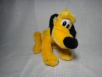 "Vintage Disney World Disneyland Pluto Sitting Dog Plush Stuffed Animal 9"""
