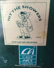 "1997 Slapstix by Cast Art ""Hit the Showers"" Coach Clown NIB Original Box"