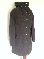 Madison Expedition Brown Parka Coat Size Small Petit