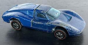1969 Hot Wheels Red Line Ford MK.IV 1:64 loose Hong Kong - blue