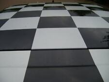 Chequered Roof Graphics Kit, Check Decals ,Checkered Stickes for Roof or Bonnet