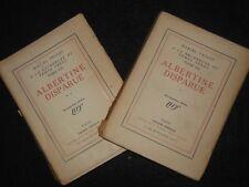 MARCEL PROUST; Albertine Disparue (1925) A La Recherche du Temps Perdu VII