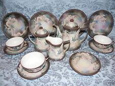 ANTIQUE JAPAN DRAGONWARE DESSERT TEA SET~PLATES~CUPS~SAUCER~TEAPOT~sugar~creamer