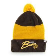 NHL Boston Bruins Wollmütze Wintermütze Hustle Cuff Knit Hat mit Pommel
