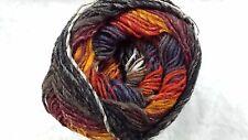 Noro Silk Garden Sock Yarn #S349 Burnt Orange Wine Grey Taupe 100g