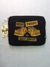 "Obey Tablet Case Sz 10"" Bright Future Graphic Sleeve Black"