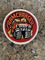 Vintage Patch Ramcharger Mopar Dodge Chrysler Muscle Truck Car Rat Rod NOS 4x4